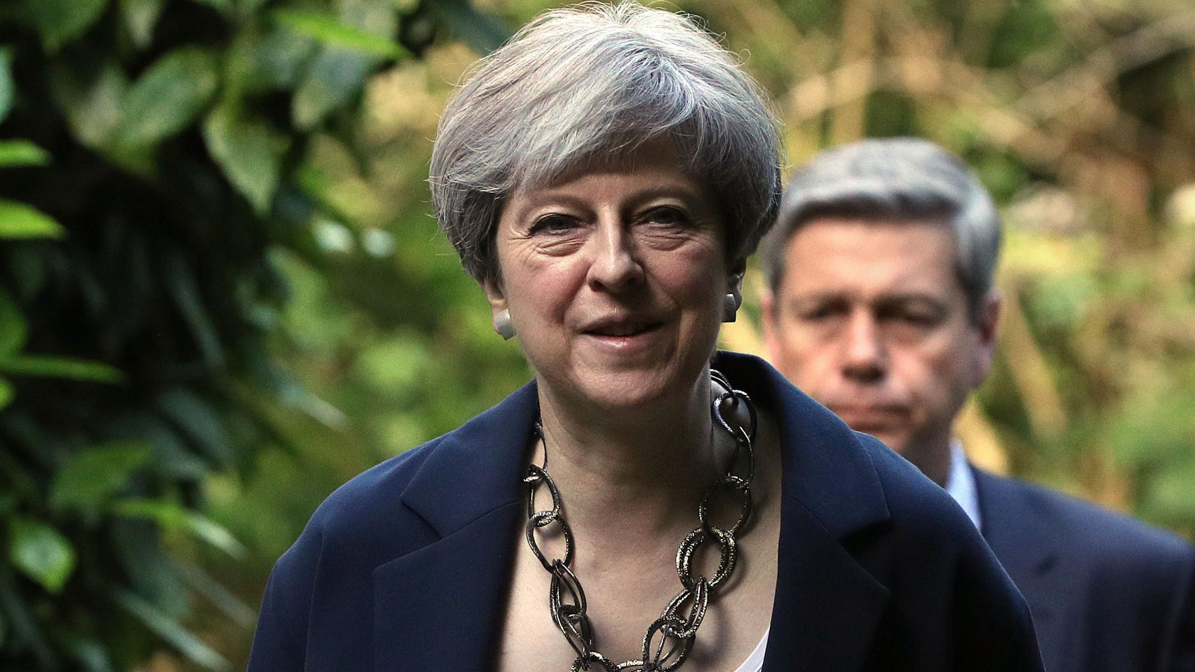 British PM says she takes responsibility for election result