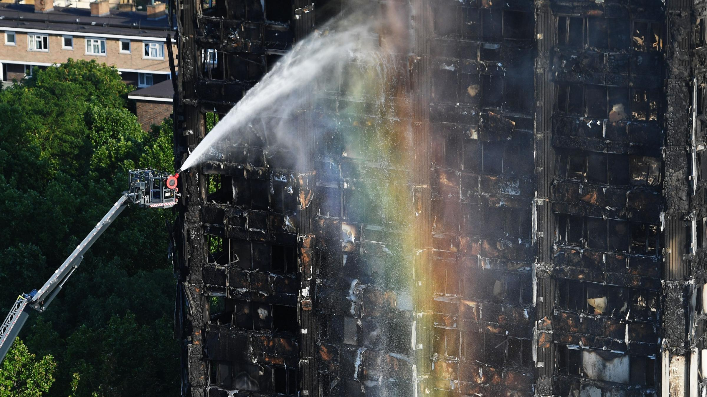 Mayor Sadiq Khan confronted by irate Londoners after fire
