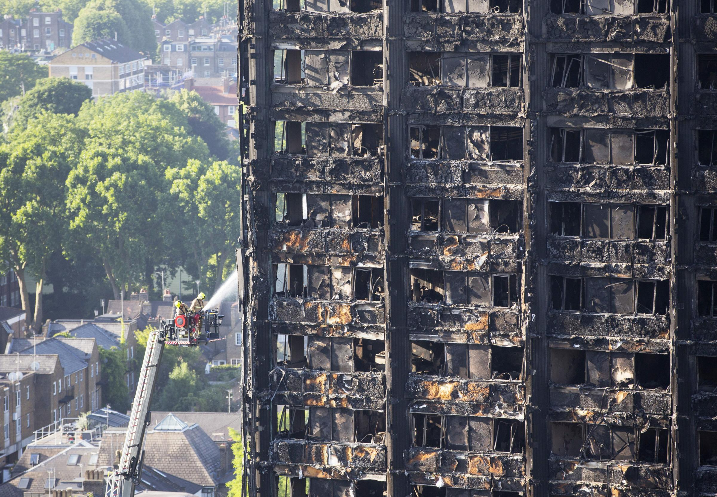 London fire: Government staff drafted to help victims