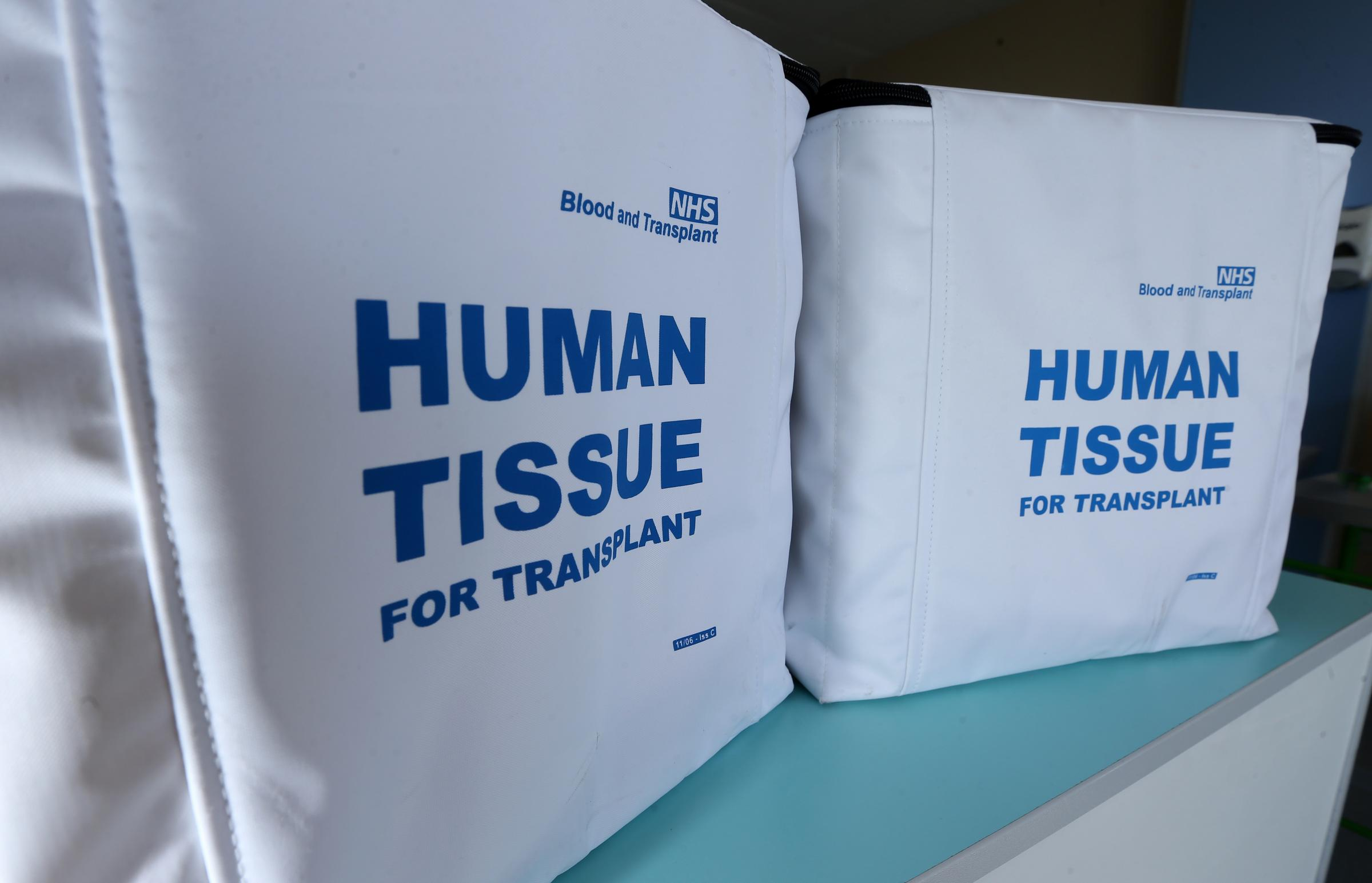 Organ donation campaign sees number of people needing transplant slashed
